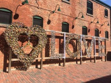 The beautiful distillery district