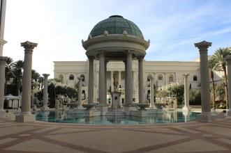The pool at Caesars